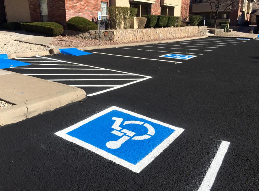 Handicap Sign (After)